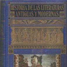 Enciclopedias antiguas: HISTORIA DE LAS LITERATURAS ANTIGUAS Y MODERNAS.BIBLIOTECA HISPANIA.. Lote 85583172