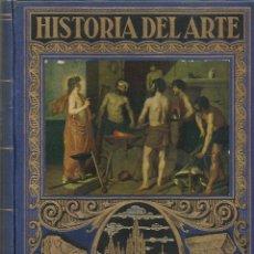 Enciclopedias antiguas: HISTORIA DEL ARTE. BIBLIOTECA HISPANIA.. Lote 85583216