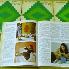 Enciclopedias antiguas: LABOR DE LA MUJER Y DEL HOGAR 1972 GRAN ENCICLOPEDIA 4 TOMOS POR FASCICULOS EDICIONES CICLOPE RARA. Lote 88113904
