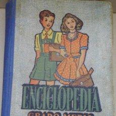 Enciclopedias antiguas: ENCICLOPEDIA GRADO MEDIO DALMAU CARLES AÑO 1951 MIRA LAS FOTOS. Lote 89485116
