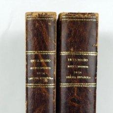 Enciclopedias antiguas: DICCIONARIO ENCICLOPÉDICO DE LA LENGUA ESPAÑOLA-IMPRENTA Y LIBRERÍA DE GASPAR, 1878-TOMOS I Y II. Lote 91070825