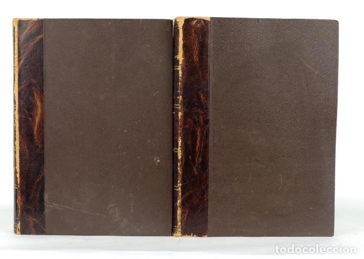 Enciclopedias antiguas: Diccionario enciclopédico de la lengua española-Imprenta y librería de Gaspar, 1878-Tomos I y II - Foto 2 - 91070825