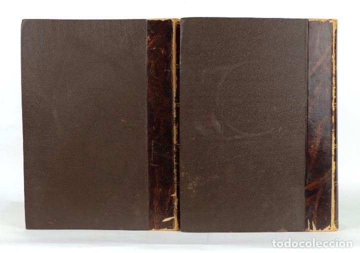 Enciclopedias antiguas: Diccionario enciclopédico de la lengua española-Imprenta y librería de Gaspar, 1878-Tomos I y II - Foto 3 - 91070825