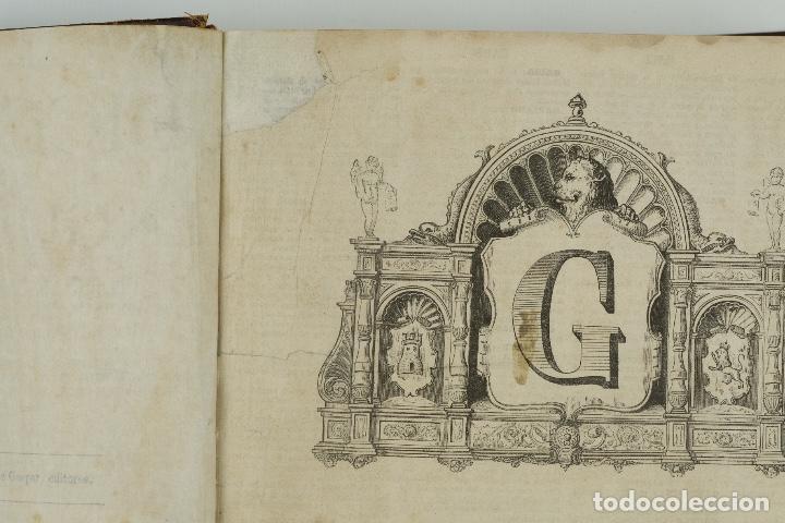 Enciclopedias antiguas: Diccionario enciclopédico de la lengua española-Imprenta y librería de Gaspar, 1878-Tomos I y II - Foto 6 - 91070825