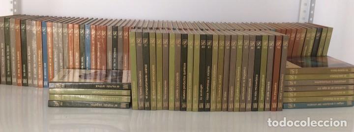 BIBLIOTECA SALVAT DE GRANDES TEMAS COLECCIÓN COMPLETA 100 TOMOS (Libros Antiguos, Raros y Curiosos - Enciclopedias)