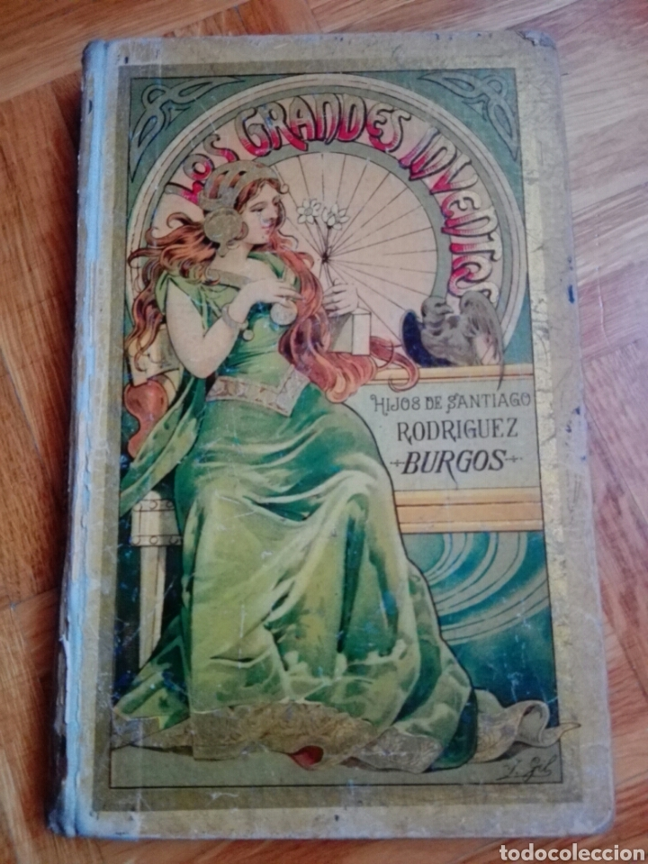 LOS GRANDES INVENTOS (Libros Antiguos, Raros y Curiosos - Enciclopedias)