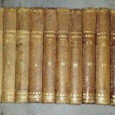 Enciclopedias antiguas: ENCICLOPEDIA MODERNA. DICCIONARIO UNIVERSAL LITERATURA, CIENCIAS, ARTES.. FRANCISCO P. MELLADO. 1851. Lote 94060885