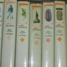 Enciclopedias antiguas: LOS VASCOS, LEYENDAS Y MITOS #. Lote 95211387