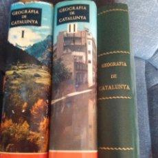 Enciclopedias antiguas: GEOGRAFÍA DE CATALUNYA .EDITORIAL AEDOS 1958.TOMO I - LL - LLL -GEOGRAFIA GENERAL. Lote 95946579