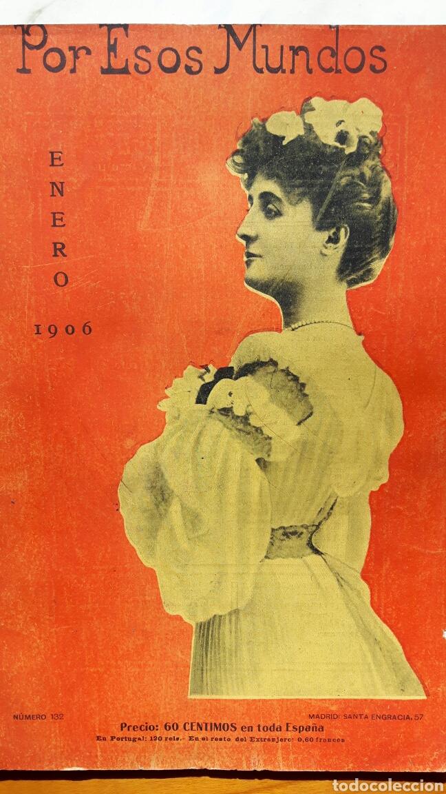 POR ESOS MUNDOS ENERO 1906 (Libros Antiguos, Raros y Curiosos - Enciclopedias)