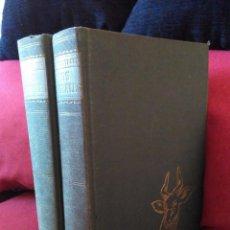 Enciclopedias antiguas: DOS TOMOS CORRELATIVOS DE ANTIGUA ENCICLOPEDIA, LOS ANIMALES.TOMOS UNOS Y DOS.. Lote 96934419