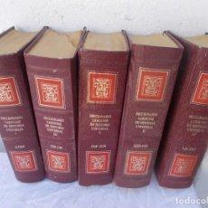 Enciclopedias antiguas: 5 TOMOS DICCIONARIO. Lote 97128231