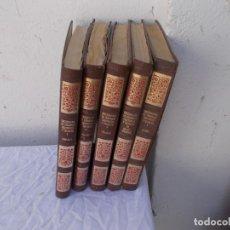 Enciclopedias antiguas: 5 TOMOS DICCIONARIO. Lote 97128307