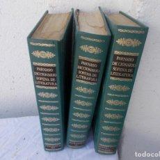 Enciclopedias antiguas: 3 TOMOS DICCIONARIO. Lote 97128343