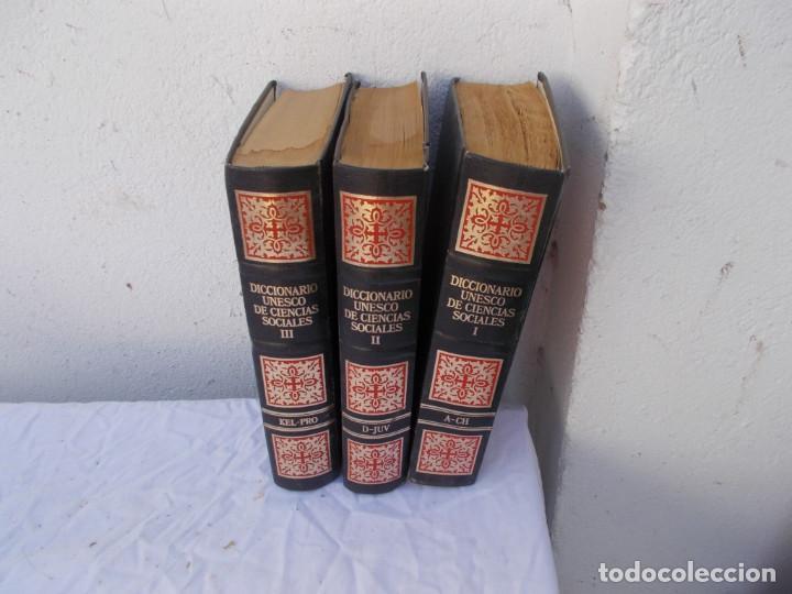 3 TOMOS DICCIONARIO (Libros Antiguos, Raros y Curiosos - Enciclopedias)