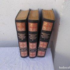 Enciclopedias antiguas: 3 TOMOS DICCIONARIO. Lote 97128435