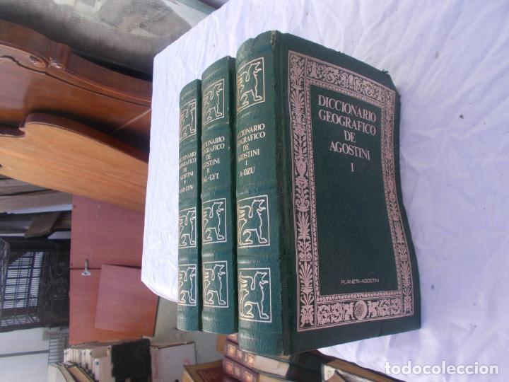 Enciclopedias antiguas: 3 tomos diccionario - Foto 3 - 97128487