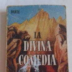 Enciclopedias antiguas: ENCICLOPEDIA PULGA. LA DIVINA COMEDIA. DANTE. AÑOS 60. Lote 97371359