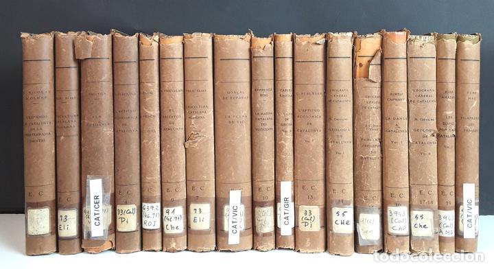 ENCICLOPEDIA CATALUNYA. 17 TOMOS. VARIOS AUTORES. EDITORIAL BARCINO.1926/1932. (Libros Antiguos, Raros y Curiosos - Enciclopedias)