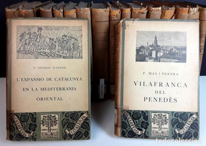 Enciclopedias antiguas: ENCICLOPEDIA CATALUNYA. 17 TOMOS. VARIOS AUTORES. EDITORIAL BARCINO.1926/1932. - Foto 2 - 97914063