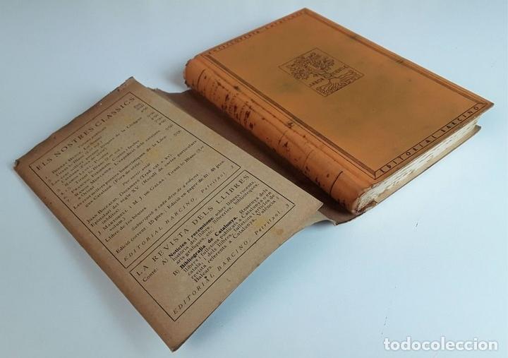 Enciclopedias antiguas: ENCICLOPEDIA CATALUNYA. 17 TOMOS. VARIOS AUTORES. EDITORIAL BARCINO.1926/1932. - Foto 3 - 97914063