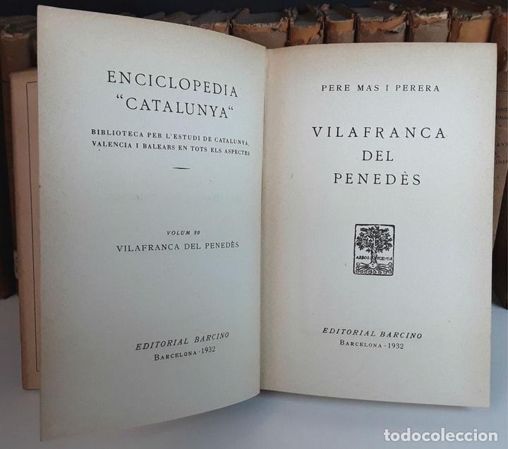 Enciclopedias antiguas: ENCICLOPEDIA CATALUNYA. 17 TOMOS. VARIOS AUTORES. EDITORIAL BARCINO.1926/1932. - Foto 6 - 97914063