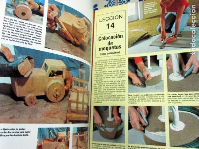 Enciclopedias antiguas: Enciclopedia de bricolaje Salvat. 10 tomos. Completa - Foto 6 - 100210479