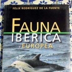 Enciclopedias antiguas: FAUNA IBÉRICA Y EUROPEA. FÉLIX RODRÍGUEZ DE LA FUENTE. VOLÚMEN 12. SALVAT 2003. Lote 100210835