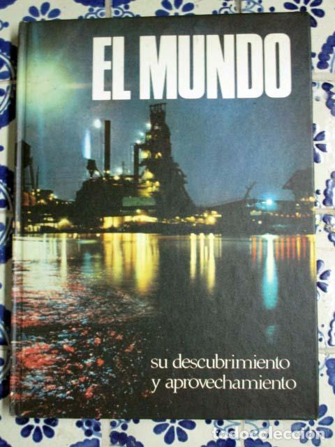 Enciclopedias antiguas: El Mundo / El Hombre / La Vida / La Tierra. 4 Volúmenes, Completa. - Foto 2 - 100211335