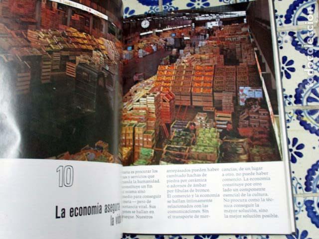 Enciclopedias antiguas: El Mundo / El Hombre / La Vida / La Tierra. 4 Volúmenes, Completa. - Foto 3 - 100211335