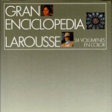 Enciclopedias antiguas: GRAN ENCICLOPEDIA LAROUSSE. 26 VOLUMENES V. Lote 100538951