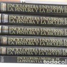 Enciclopedias antiguas: ENCICLOPÉDIA UNIVERSAL DE LA PINTURA Y LA ESCULTURA. Lote 104540639