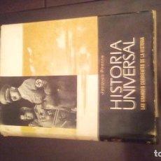 Enciclopedias antiguas: TOMO HISTORIA UNIVERSAL. Lote 110158591