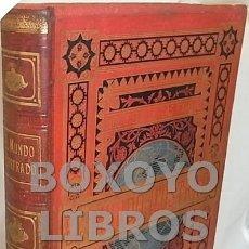Enciclopedias antiguas: REVISTA. BIBLIOTECA DE LAS FAMILIAS. MUNDO ILUSTRADO. HISTORIA. VIAJES. CIENCIAS. ARTES. LITERATURA.. Lote 110166630