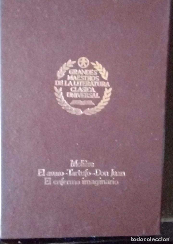 GRANDES MAESTROS DE LA LITERATURA CLASICA UNIVERSAL (Libros Antiguos, Raros y Curiosos - Enciclopedias)