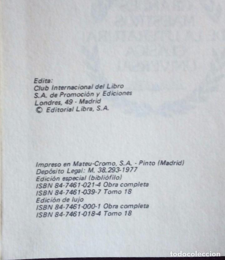Enciclopedias antiguas: Grandes maestros de la literatura clasica universal - Foto 2 - 110858595