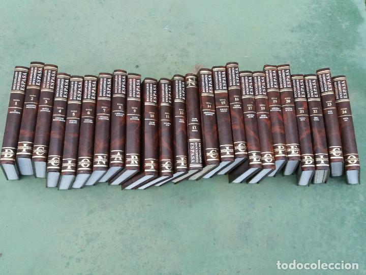 ENCICLOPEDIA ESPASA 25 TOMOS (Libros Antiguos, Raros y Curiosos - Enciclopedias)