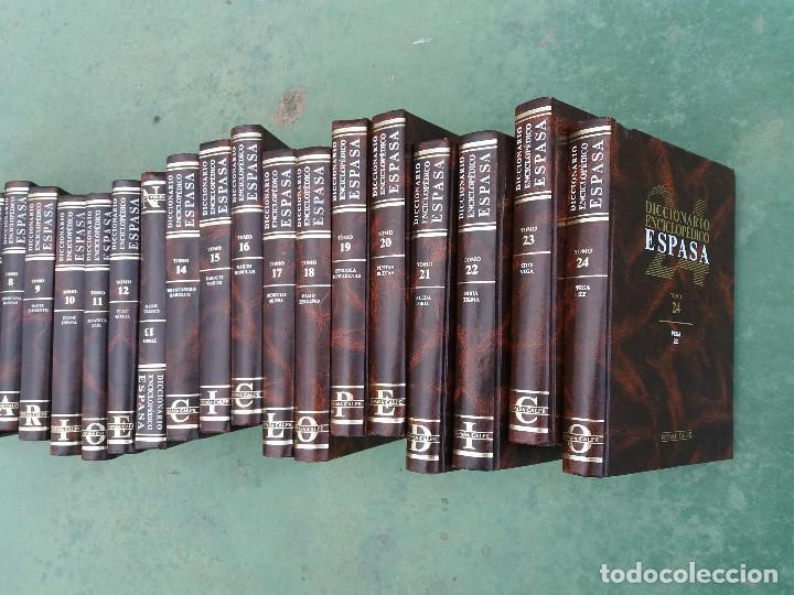 Enciclopedias antiguas: enciclopedia espasa 25 tomos - Foto 2 - 111492827