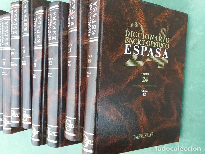 Enciclopedias antiguas: enciclopedia espasa 25 tomos - Foto 3 - 111492827