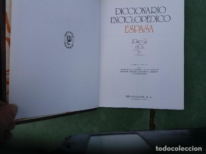 Enciclopedias antiguas: enciclopedia espasa 25 tomos - Foto 4 - 111492827