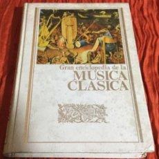 Enciclopedias antiguas: LIBRO ENCICLOPEDIA DE MUSICA. Lote 112248551