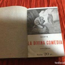 Enciclopedias antiguas: NOVELA LA DIVINA COMEDIA DE DANTE, EDICIÓN MUY ANTIGUA.. Lote 112248755