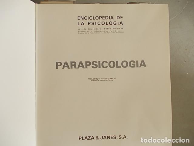 Enciclopedias antiguas: Enciclopedia Psicología 6 tomos Plaza y Janés - Foto 2 - 112316583