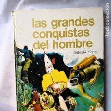Enciclopedias antiguas: LAS GRANDES CONQUISTAS DEL HOMBRE. Lote 115445079