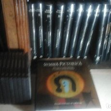Enciclopedias antiguas: SUMMA PICTORICA 10 TOMOS Y 10 DVD COMPLETA. Lote 115484887
