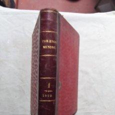 Libri antichi: POR ESOS MUNDOS PUBLICACION MENSUAL ENCICLOPEDICA VOLUMEN XVIII ENERO - JUNIO 1909. Lote 116778927