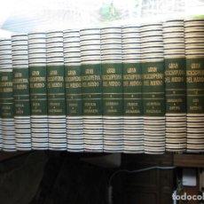 Enciclopedias antiguas: GRAN ENCICLOPEDIA DEL MUNDO. DURVAN. PRIMERA EDICIÓN 1966. 24 TOMOS (FALTA EL 20 - LÉXICO ESPAÑOL).. Lote 117419491