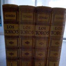 Enciclopedias antiguas: LOS TOROS. TRATADO TÉCNICO E HISTÓRICO. COSSIO. Lote 118072967