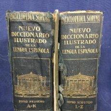 Enciclopedias antiguas: ENCICLOPEDIA SOPENA NUEVO DICCIONARIO ILUSTRADO LENGUA ESPAÑOLA 6ª EDICIÓN 1935 RAMÓN SOPENA. Lote 118524363