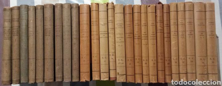 ENCICLOPEDIA CATALUNYA. LOTE 25 LIBROS. 1926/1961. EDITORIA BARCINO (Libros Antiguos, Raros y Curiosos - Enciclopedias)